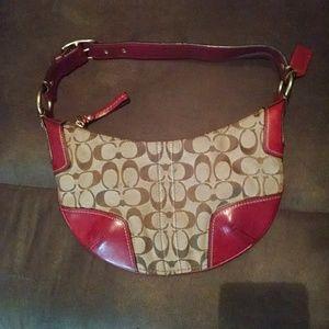 Authentic mini Coach purse
